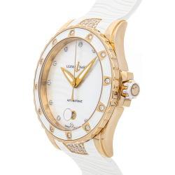 Ulysse Nardin Women's Rubber Diamond Watch found on MODAPINS from Ruelala for USD $16449.00