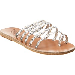 Ancient Greek Sandals Niki Metallic Leather Sandal found on MODAPINS from Ruelala for USD $189.99