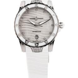 Ulysse Nardin Women's Rubber Diamond Watch found on MODAPINS from Ruelala for USD $6689.00