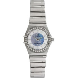 Omega 1990 Women's Constellation Diamond Watch found on MODAPINS from Gilt for USD $2499.00