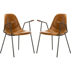 Safavieh Tanner Mid Century Dining Chair found on Bargain Bro from Gilt for USD $281.19