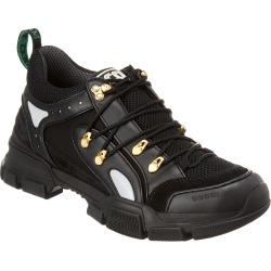 Gucci Flashtrek Leather & Mesh Sneaker found on Bargain Bro Philippines from Gilt for $799.99