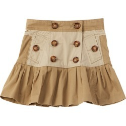 Burberry Gathered Twill Trench Skirt found on Bargain Bro India from Ruelala for $149.99