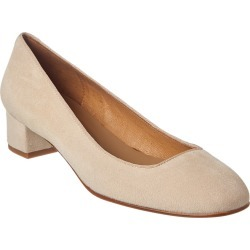 French Sole Cosmo Suede Pump