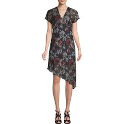 Anna Sui Asymmetric Floral Shift Dress found on MODAPINS from Gilt for USD $92.99