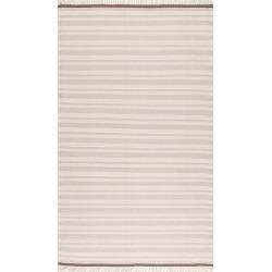 Tiffany Striped Flatweave Cotton Rug