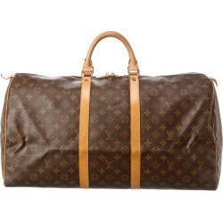 Louis Vuitton Monogram Canvas Keepall 55 found on Bargain Bro Philippines from Gilt for $1050.00