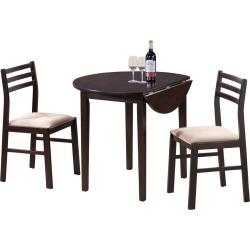 Monarch 3pc Dining Set