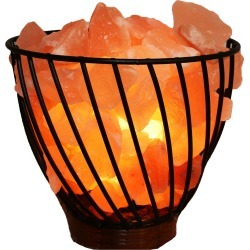 Manhattan Comfort 7in Himalayan Wired Basket Lamp