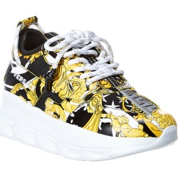 Versace Chain Reaction 2 Leather Sneaker found on Bargain Bro Philippines from Ruelala for $589.99