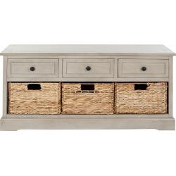 Safavieh Damien 3 Drawer Storage Bench found on Bargain Bro India from Gilt for $239.99