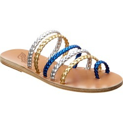Ancient Greek Sandals Niki Braids Metallic Leather Sandal found on MODAPINS from Ruelala for USD $129.99