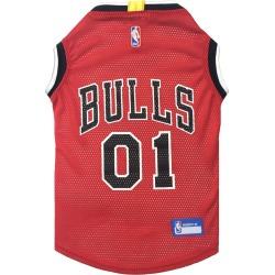 D.O.G. Chicago Bulls Dog Jersey