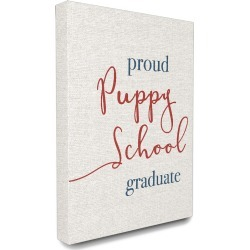 Stupell Industries Proud Puppy School Grad found on Bargain Bro Philippines from Ruelala for $49.99