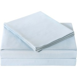 Truly Soft Everyday Light Blue Sheet Set found on Bargain Bro Philippines from Ruelala for $24.99