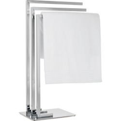 Torre & Tagus Metro Chrome 3 Tier Towel Stand