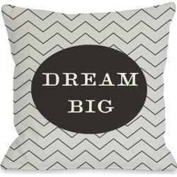 """One Bella Casa """"Dream Big"""" Decorative Pillow"""