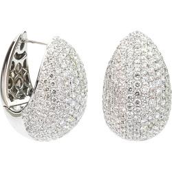 Suzy Levian 18K 2.81 ct. tw. Diamond Mini Hoops
