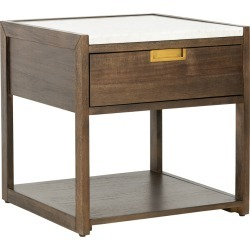 Safavieh Couture Adeline 1 Drawer Nightstand found on Bargain Bro India from Gilt for $379.99