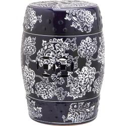 Safavieh Midnight Flower Garden Stool found on Bargain Bro India from Ruelala for $88.99