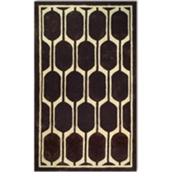 The Rug Market Honeycomb Hand-Made Wool & Silk Contemporary Rug