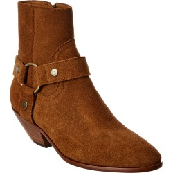 Saint Laurent West Harness 45 Suede Bootie found on Bargain Bro India from Ruelala for $579.99