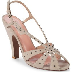 Valentino 110 Crystal Embellished Suede Slingback Sandal found on Bargain Bro Philippines from Ruelala for $399.99