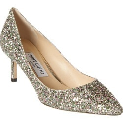 Jimmy Choo Romy 85 Glitter Pump found on MODAPINS from Ruelala for USD $499.00