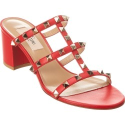 Valentino Rockstud Caged 60 Leather Sandal found on Bargain Bro India from Gilt City for $579.99