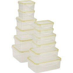 Honey-Can-Do Snap-Tab 12pc Food Storage Set
