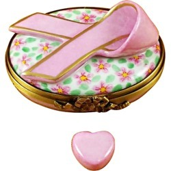 Rochard Limoges Pink Ribbon Box found on Bargain Bro Philippines from Ruelala for $199.99