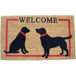 GeoCrafts Two Dog Welcome found on Bargain Bro India from Gilt for $29.99