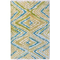 The Rug Market Andros Hand-Made Polyester Contemporary Rug