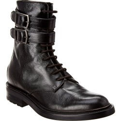 Saint Laurent Studded Leather Army Boot found on Bargain Bro India from Gilt for $1019.99