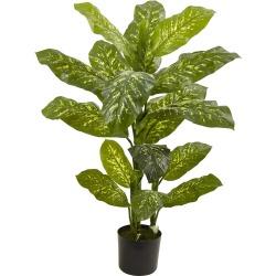 Nearly Natural 4? Dieffenbachia Plant