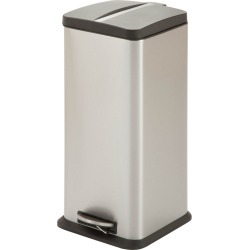 Honey-Can-Do 30L Square Step Trash Can