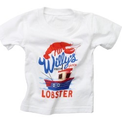 Wes Willy Willy's Lobster T-Shirt