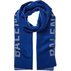 Balenciaga Logo Wool Scarf found on Bargain Bro India from Ruelala for $469.99