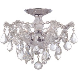 Crystorama 3-Light Maria Theresa Flush Mount found on Bargain Bro India from Gilt City for $509.99