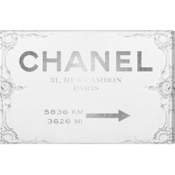 Oliver Gal Couture Sign Canvas Art
