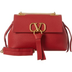 Valentino V-Ring Small Grainy Leather Shoulder Bag found on Bargain Bro Philippines from Ruelala for $2299.99