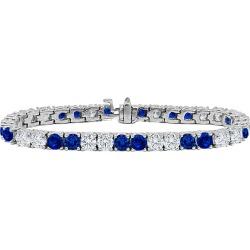 Diana M. Fine Jewelry 18K 12.20 ct. tw. Diamond & Sapphire Bracelet found on Bargain Bro India from Gilt City for $10999.99