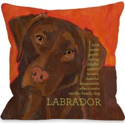 One Bella Casa Labrador Pillow