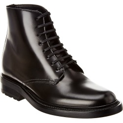 Saint Laurent Army Leather Lace-Up Boot found on Bargain Bro Philippines from Ruelala for $619.99