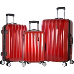 Olympia Titan Hardside 3PC Spinner Luggage Set