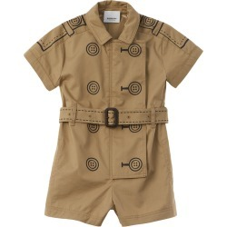 Burberry Trompe L'Oeil Belted Playsuit found on Bargain Bro India from Gilt for $159.99