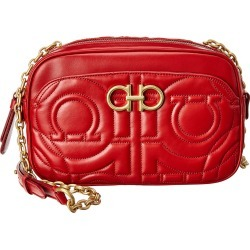 Salvatore Ferragamo Gancini Quilted Leather Camera Bag found on Bargain Bro India from Gilt City for $999.99