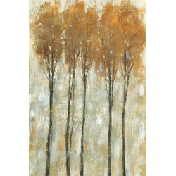 Marmont Hill Standing Tall in Autumn II Painting Print on Wrapped Canvas found on Bargain Bro Philippines from Gilt City for $249.99