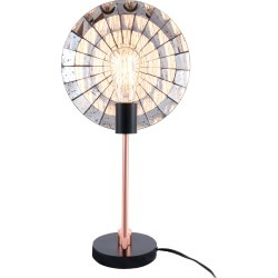 24in Copper Industrial Rita Table Lamp