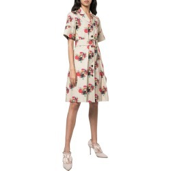 Adam Lippes Print Belted Shirt Dress found on MODAPINS from Gilt City for USD $225.99